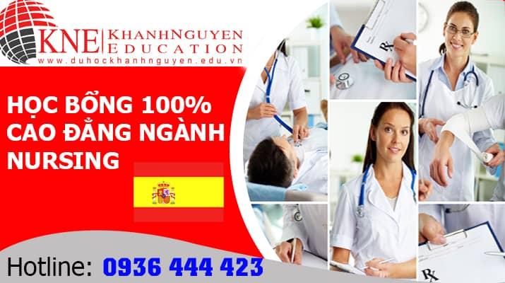 học bổng toàn phần ngành Nursing