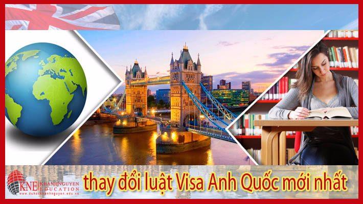 Thay đổi luật visa ở Anh Quốc
