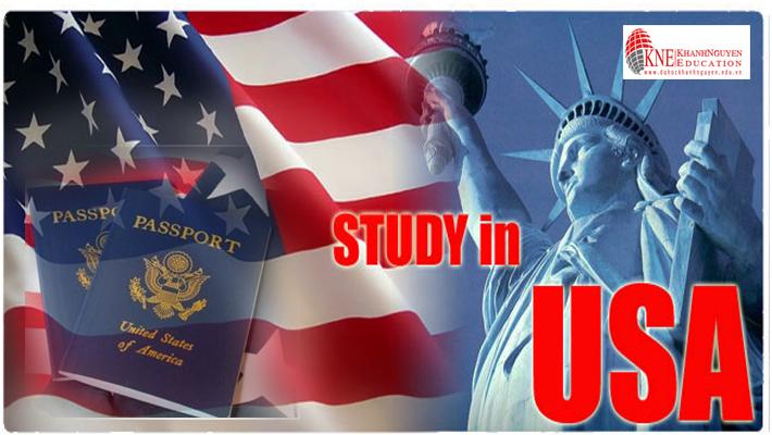 visa du học Mỹ mới