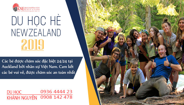 du học hè New Zealand