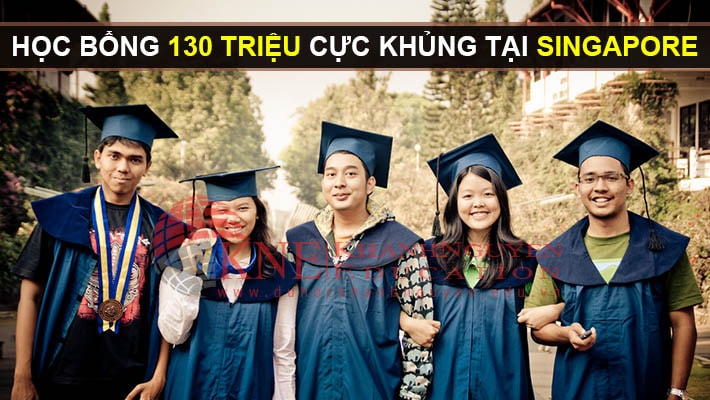 cơn mưa học bổng du học singapore