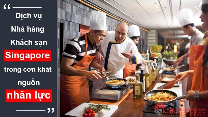 Dịch vụ Nhà hàng - Khách sạn Singapore
