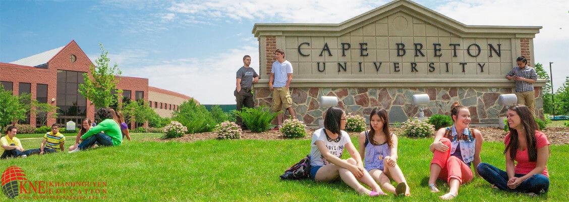 Du học Canada ngành quản lý nhà hàng khách sạn tại đại học Cape Bretain 1