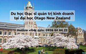 Du Học Thạc Sĩ Quản Trị Kinh Doanh MBA Tại Đại Học Otago New Zealand 1