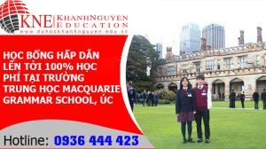 Học Bổng Hấp Dẫn Lên Tới 100% Học Phí Tại Trường Trung Học Macquarie Grammar School, Úc 4