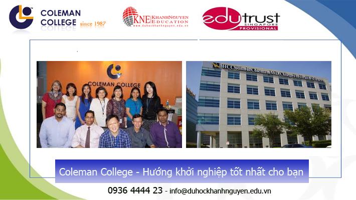 Trường Coleman tại Singapore thuộc trong hệ thống các trường tư thục chất lượng tại Singapore