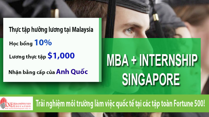 MBA - INTERSHIP TẠI SINGAPORE