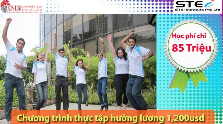 Học viện STEi Singapore được xem là một trong những trường đào tạo nghề lớn và uy tín