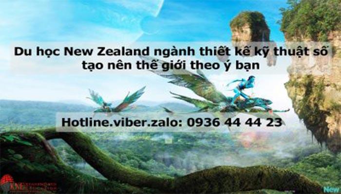 DU HỌC NEW ZEALAND NGÀNH THIẾT KẾ KỸ THUẬT SỐ TẠO NÊN THẾ GIỚI THEO Ý BẠN