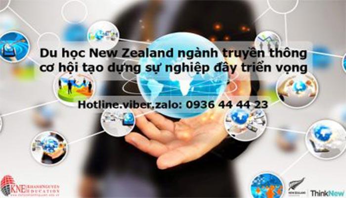 DU HỌC NEW ZEALAND NGÀNH TRUYỀN THÔNG CƠ HỘI TẠO DỰNG SỰ NGHIỆP ĐẦY TRIỂN VỌNG