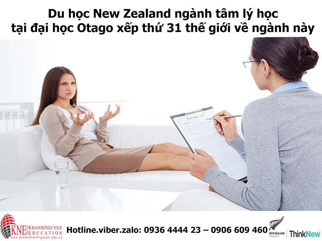 TIN TỨC DU HỌC NEW ZEALAND NGÀNH TÂM LÝ HỌC TẠI ĐẠI HỌC OTAGO