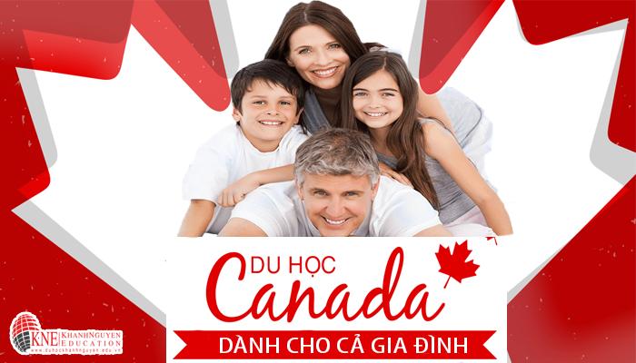 Du học định cư Canada cho cả gia đình