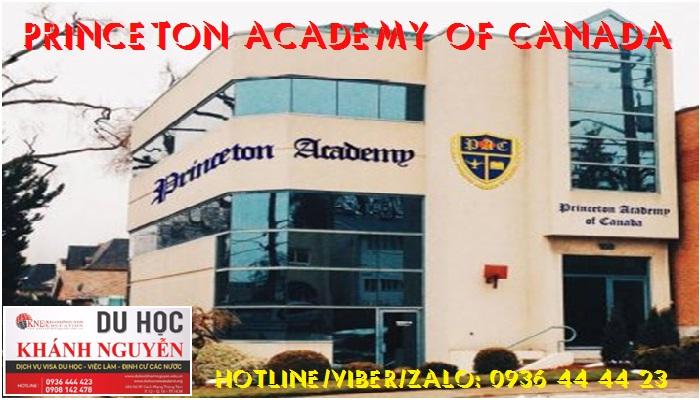 Du học Canada tại trường trung học Princeton Academy