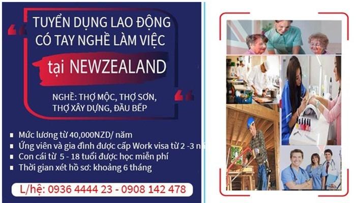 TIN TỨC DU HỌC - LAO ĐỘNG TẠI NEW ZEALAND