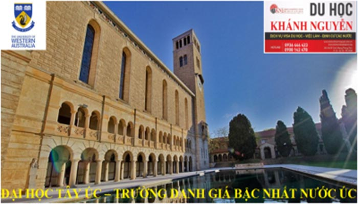 Đại học Tây Úc(University of Western Australia – UWA) được thành lập từ năm 1911