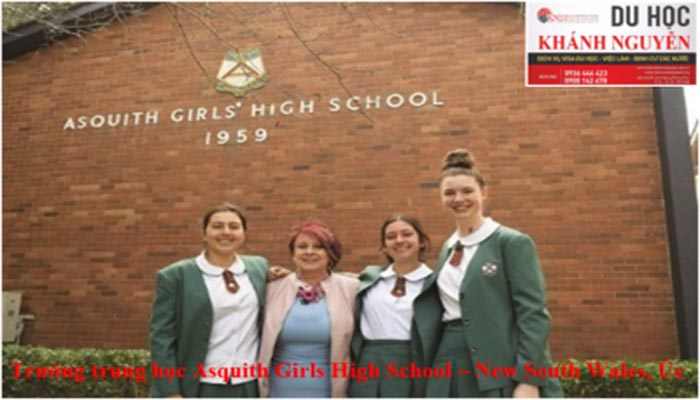 Trường trung học Asquith Girls High School – New South Wales, Úc