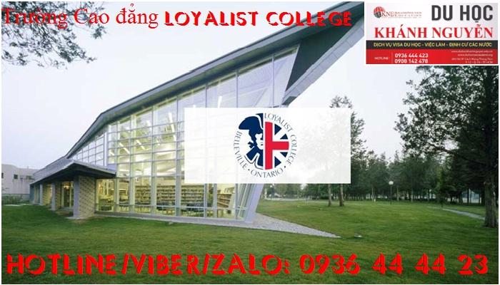 Trường Cao đẳng Loyralist College. Thành phố Belleville.