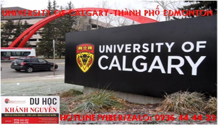 Trường Đại Học Calgary. Thành phố Edmonton