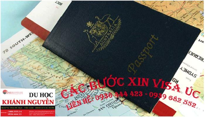 Các bước xin Visa Úc