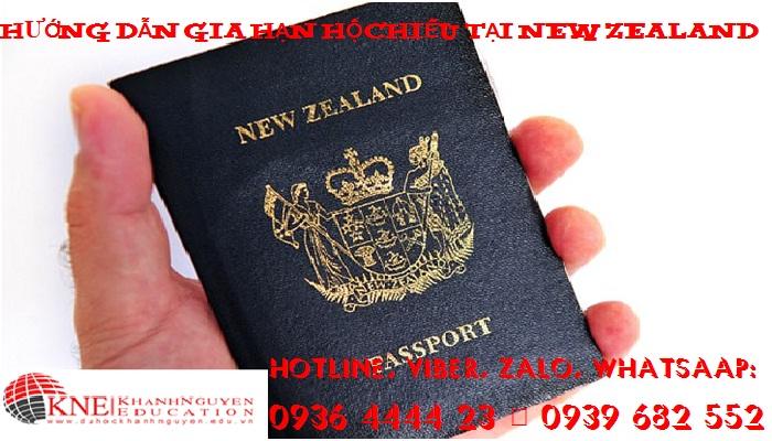 HƯỚNG DẪN GIA HẠN HỘ CHIẾU TẠI NEW ZEALAND
