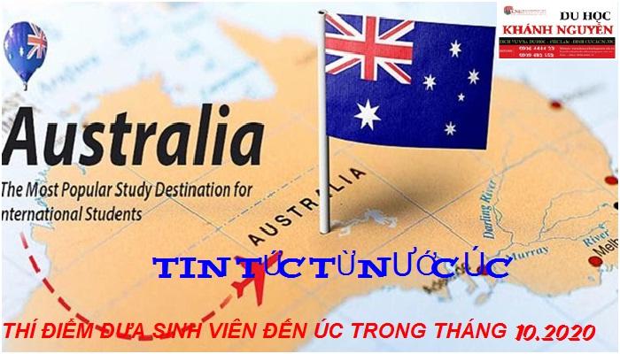 Visa Du Học Úc - Úc Thí Điểm Đưa Sinh Viên Đến Úc Trong Tháng 10-2020