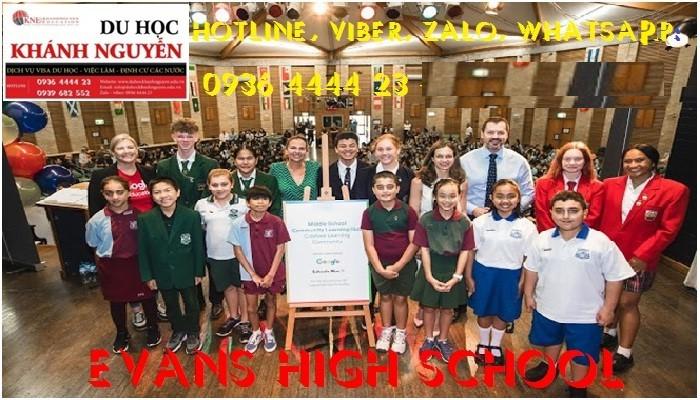 TRƯỜNG TRUNG HỌC EVANS HIGH SCHOOL