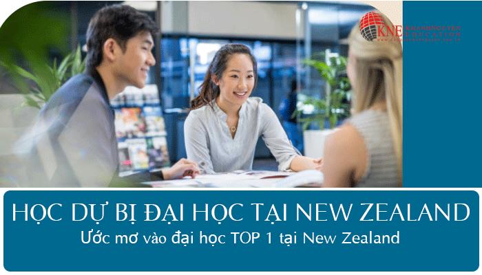 HỌC DỰ BỊ ĐẠI HỌC TẠI NEW ZEALAND