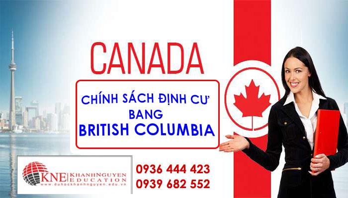 Chính sách định cư Bang British Columbia