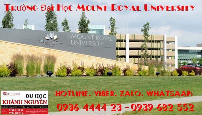 Trường Đại Học Mount Royal University
