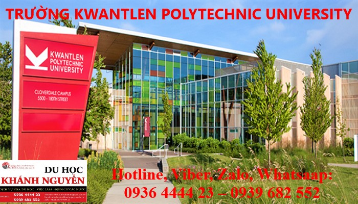 HỌC BỔNG TRƯỜNG KWANTLEN POLYTECHNIC UNIVERSITY CANADA