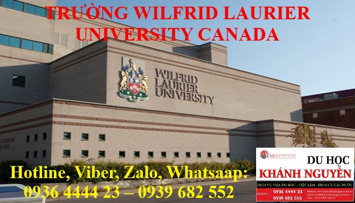 TRƯỜNG WILFRID LAURIER UNIVERSITY CANADA