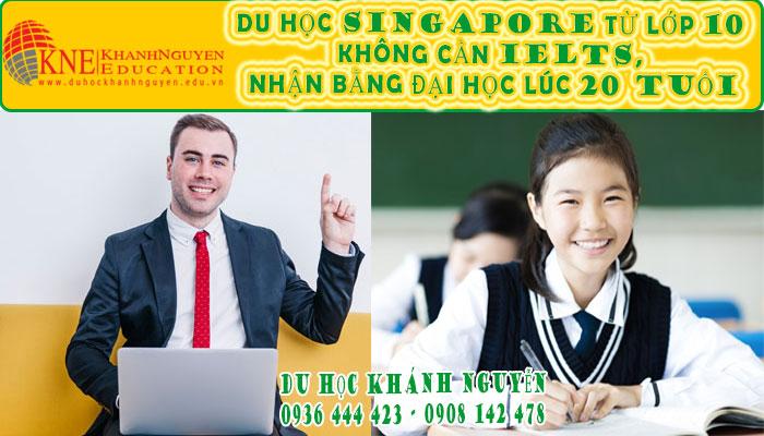 DU HỌC SINGAPORE TỪ LỚP 10