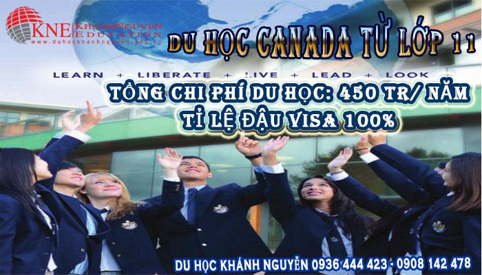 DU HỌC CANADA TỪ LỚP 11