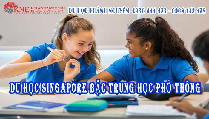 DU HỌC SINGAPORE CẤP 3