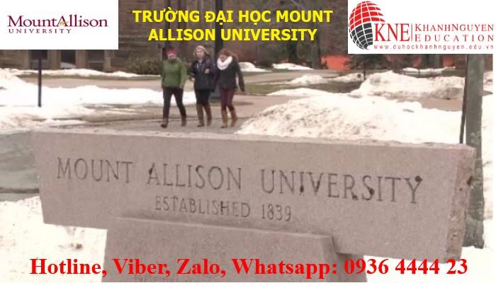 TRƯỜNG ĐẠI HỌC MOUNT ALLISON UNIVERSITY