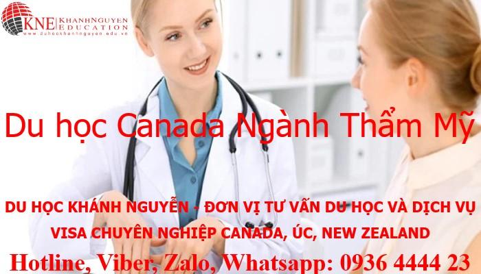 DU HỌC CANADA NGÀNH THẨM MỸ