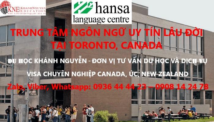 HANSA LANGUAGE CENTER - TRUNG TÂM NGÔN NGỮ HANSA TẠI TORONTO, CANADA